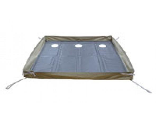 Универсальный пол к палатке для зимней рыбалки (3 лунки) (1.80х1.80м)   Купить в магазине Митек г.Минск