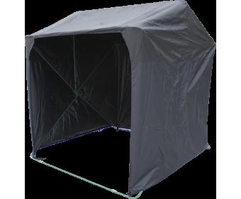Торговая палатка Кабриолет в черном цвете от компании Митек