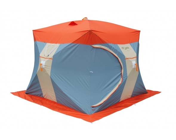 Нельма Куб-3 Люкс палатка для зимней рыбалки с внутренним тентом
