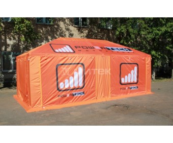 Шатер для продажи спортивных товаров, размер 6х3, бренд Powertech
