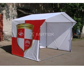 Палатка для продажи фирменной атрибутики, Спартак