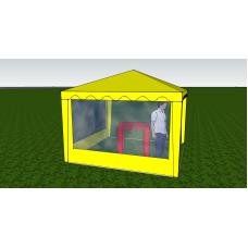 Стенка с окном 2,0х2,0 (к беседке 6 граней)